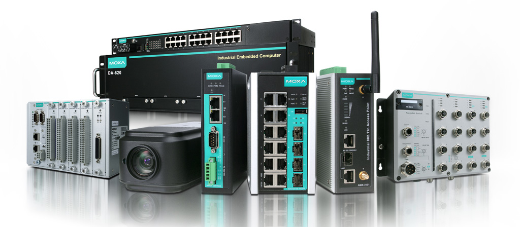 MOXA Industrial Ethernet Switches