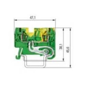 Picture of Spring Clamp Terminal - 2.5mm
