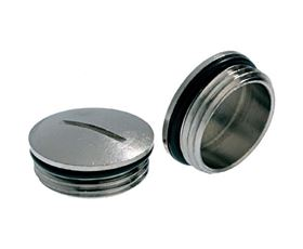 Picture of Metal Blank Plug M12+O-Ring