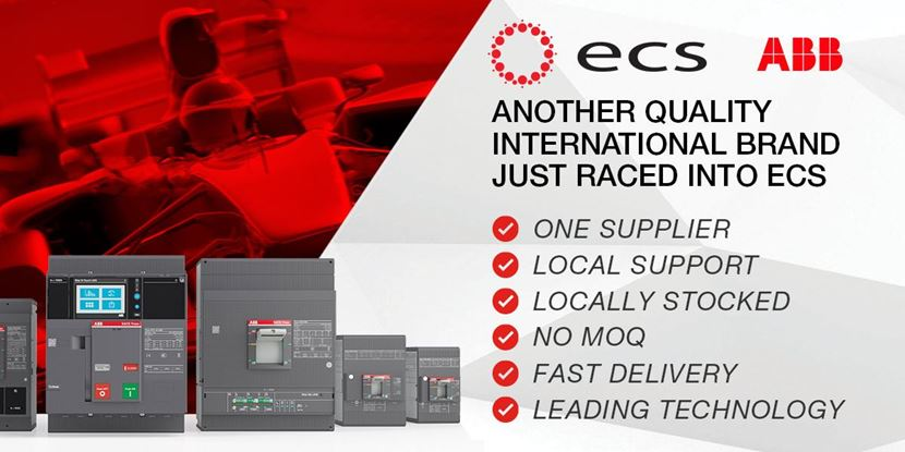 ABB Switchgear Now Available At ECS