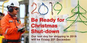 Be Ready For Christmas Shutdown 2019