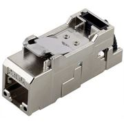 Picture of RJ45 Cat.6A Coupler T568B