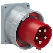 Picture of CEE Flanged Plug Sloping 125A 5p IP67