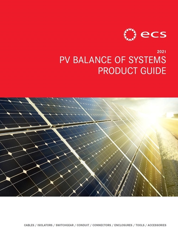 ECS PV Balance Of Systems Product Guide 2021