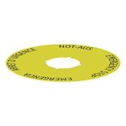 Picture of ESTOP Label