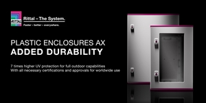 New Rittal AX Plastic Enclosures Now Available From ECS