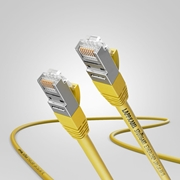 Picture of 7.5M CAT6 SHIELDED PATCHCORD YELLOW