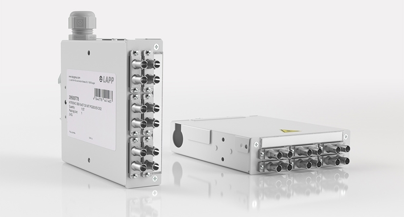 Plug And Play For Optical Data Transmission, HITRONIC SBX
