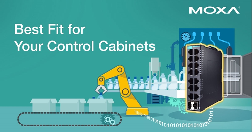 MOXA Industrial Smart Switch Achieves Network Interoperability And Integration Quicker Than Ever Before